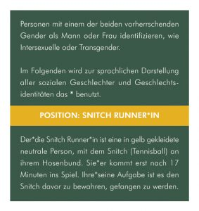 05 - Position: Snitch Runner*in